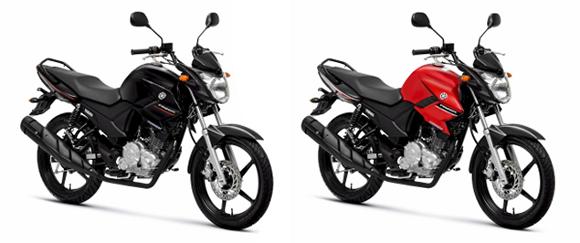 Fazer 150  a primeira moto flex Yamaha Yamaha Fazer 150cc Red