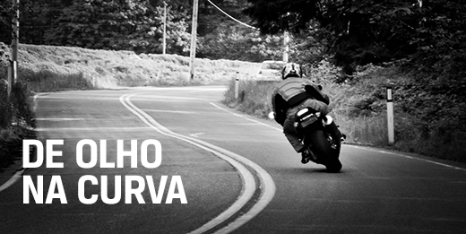 Como fazer curvas em motos