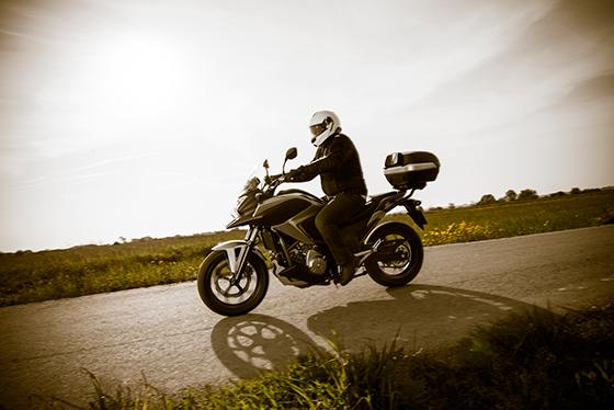 Velocidades mais altas exigem a potência dos pneus radiais