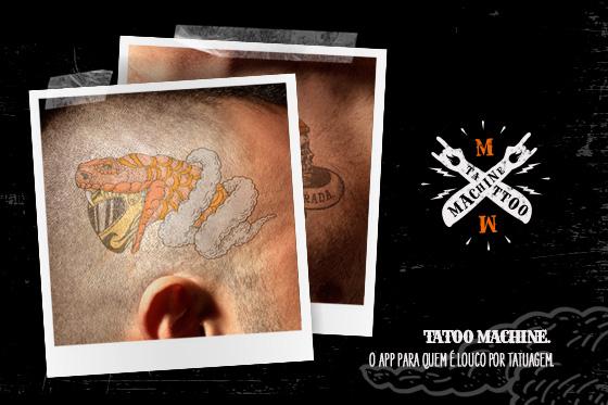 Tattoo Machine. O aplicativo para quem é louco por tatuagem.